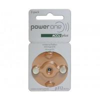 Аккумулятор Power One Accu Plus Rechargeable p312
