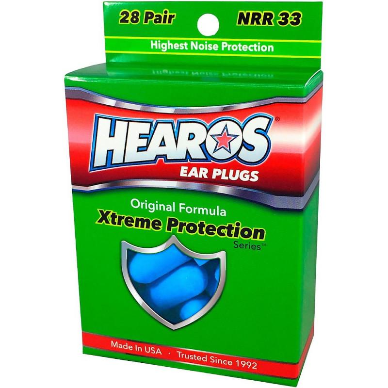 Беруши HEAROS XTREME PROTECTION NRR33, 28 пар