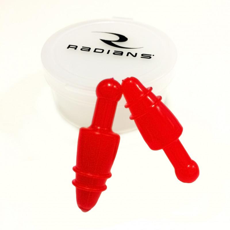 Беруши многоразовые Radians Snug Plug Reusable Case, NRR 28