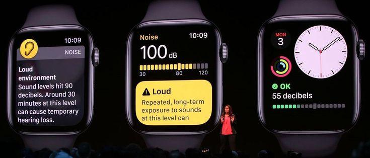 Новинка от Apple Watch для сохранения слуха