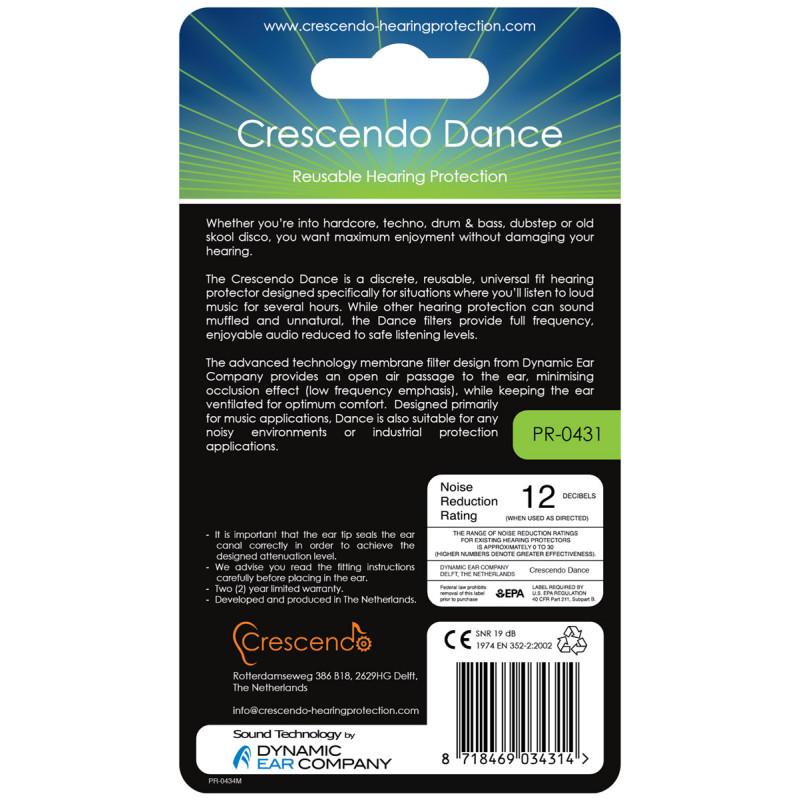 Беруши Crescendo Dance