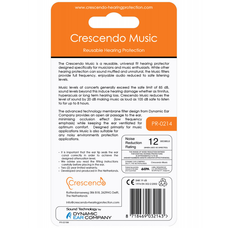 Беруши Crescendo Music