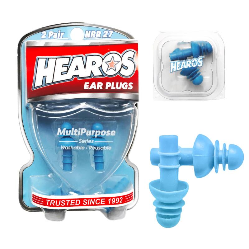 Беруши Hearos Multi-Purpose Series, (Две пары + Чехол)