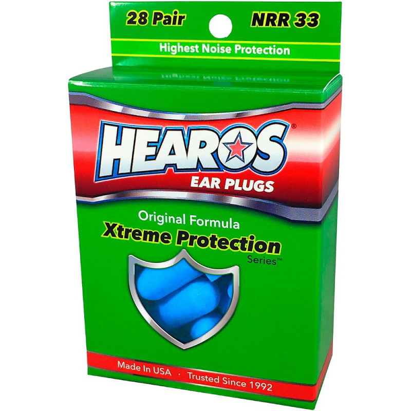 Беруши Hearos Xtreme Protection, 28 пар